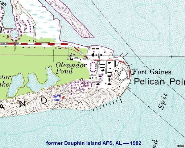 Dauphin Island Sea Lab Map